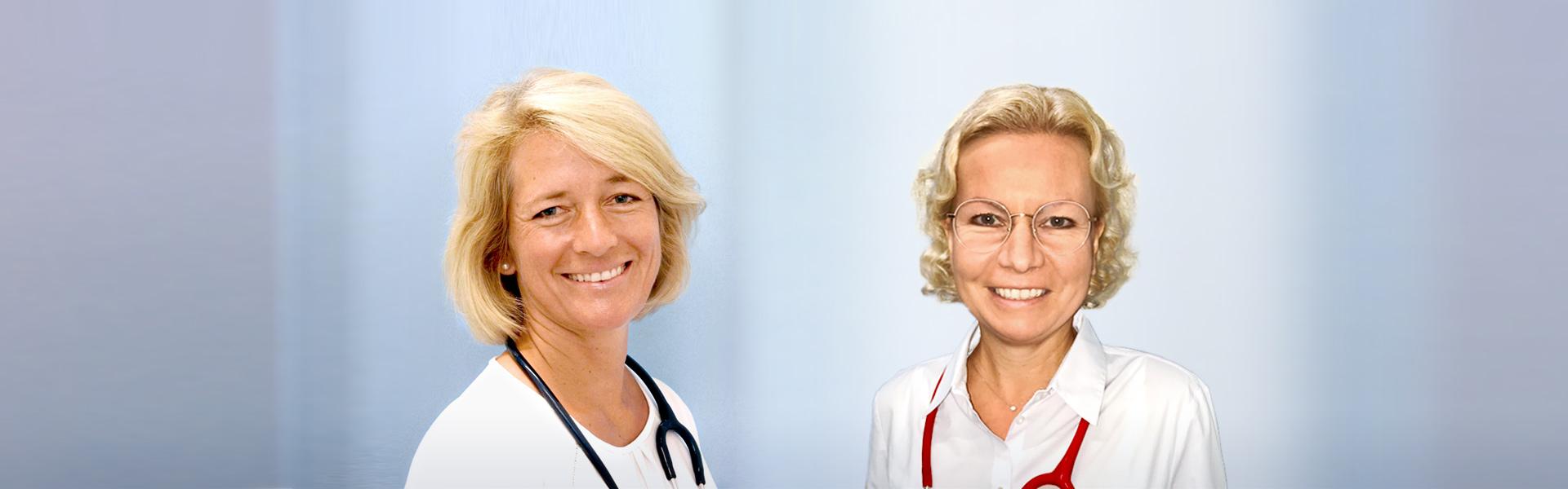 Kinderärztinnen Dr. med. Kronlage und Dr. med. Gießen-Götze